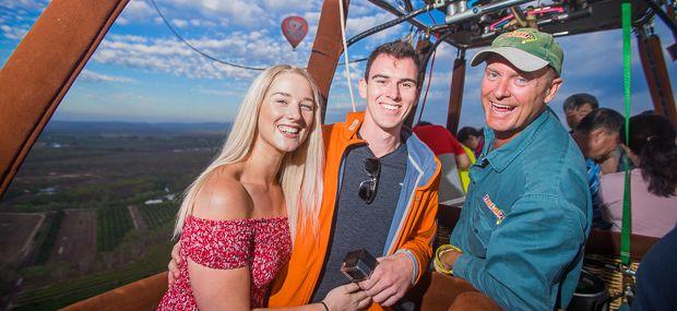 Scenic Hot Air Ballooning Mareeba Queensland Australia