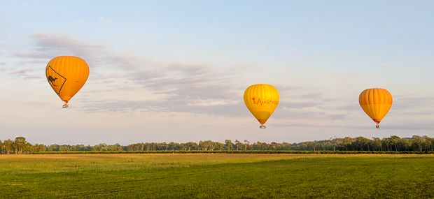 Sunrise Balloon Flights Daily from Cairns and Port Douglas