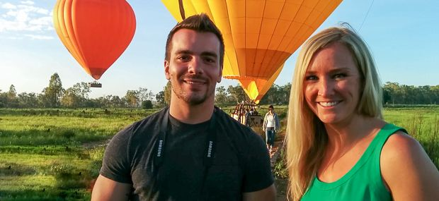 Hot Air Ballooning Daily from Cairns and Port Douglas