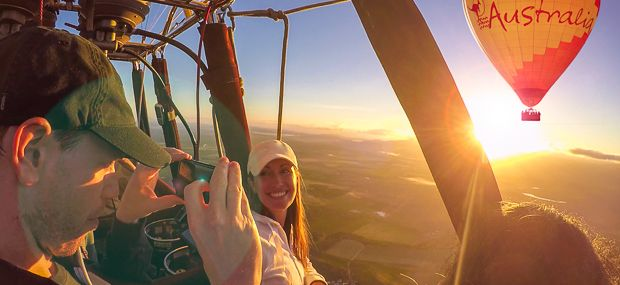 Daily Scenic Hot Air Balloon Rides from Cairns and Port Douglas