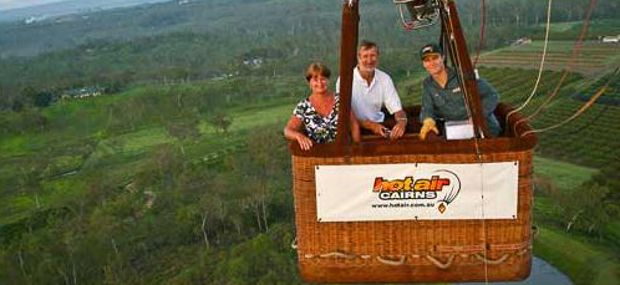 Ballooning Private Basket Hot Air Port Douglas and Cairns