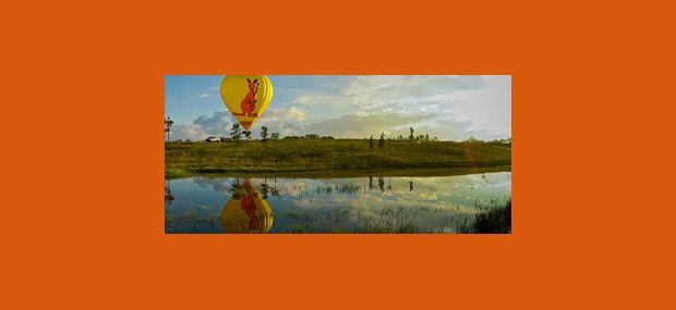 Hot Air Balloon Cairns Port Douglas Kangaroo Balloon