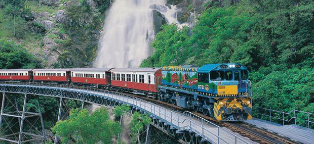 Kuranda Scenic Railway Stony Creek Water Falls