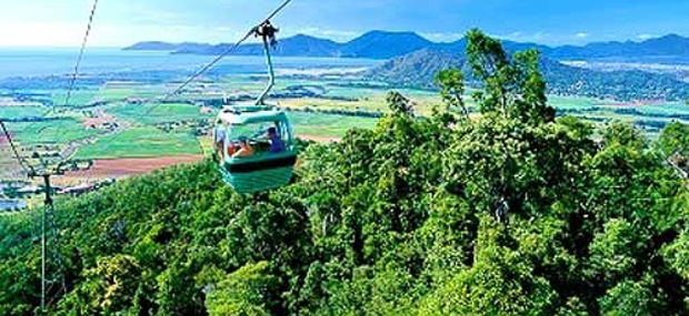 Skyrail Rainforest Gondola Tropical North Queensand