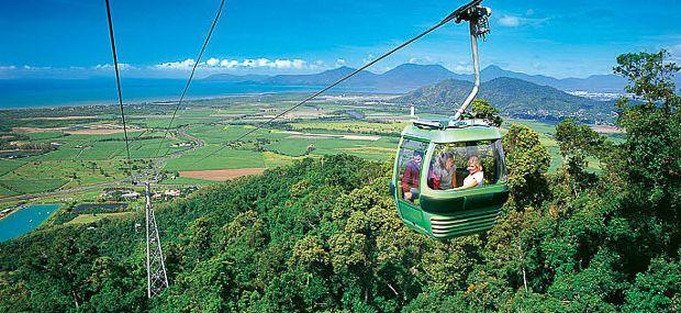 Skyrail Rainforest Cableway Cairns Kuranda Day Tours