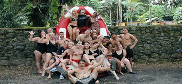 Barron River Gorge White Water Rating from Cairns and Port Douglas with Hot Air Balloon Tour