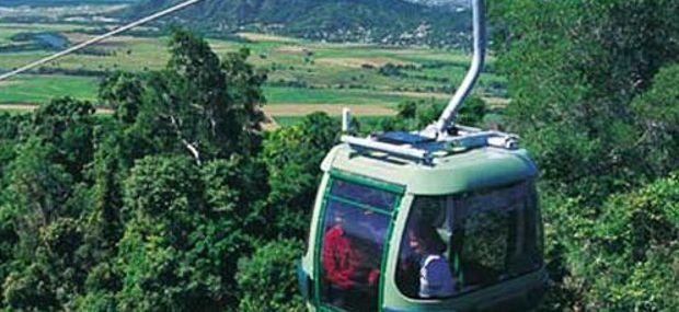 Skyrail Gondola Rainforest Cableway Kuranda to Cairns